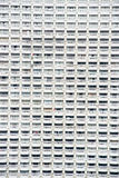 Close up of condominum terraces Royalty Free Stock Image