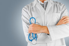 Close-up of confident doctor Stock Images