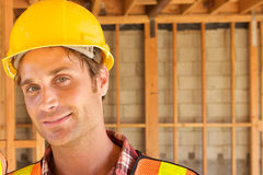 Close up of Construction Worker Stock Photos