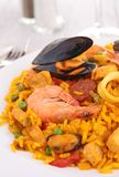 Paella royalty free stock photo