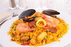 Paella royalty free stock photos
