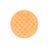 Close up cookie biscuit with filling. Royalty Free Stock Image