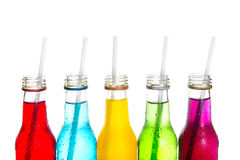 Close up cool colorful drink Royalty Free Stock Images