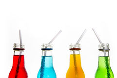 Close up cool colorful drink Stock Image