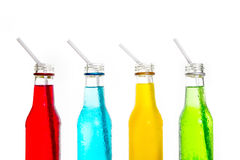 Close up cool colorful drink Stock Photos
