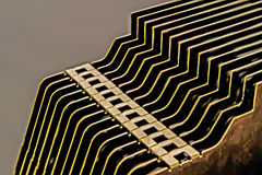 Close up cooling fins Royalty Free Stock Photos