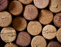 Close up of cork Stock Images