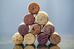 Close up of a cork wine Royalty Free Stock Photography