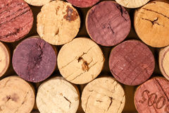 Close up of a cork wine Royalty Free Stock Photo
