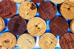 Close up of a cork wine Stock Image