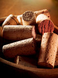Close-up on corks Royalty Free Stock Image