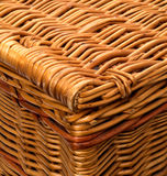 Close up of Corner of hamper basket Royalty Free Stock Image