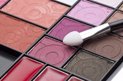 Close Up of Cosmetic Palette Stock Photos