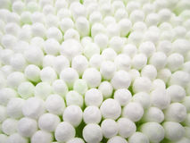Close up of Cotton Buds Stock Images
