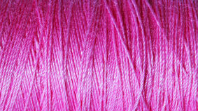 Close up of cotton or yarn for a background. Royalty Free Stock Images