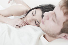 Close up couple Royalty Free Stock Photo