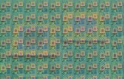 Close up of cpu processors. Close up of modern cpu processors stock photo