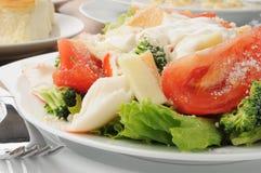 Close up of a crab salad Royalty Free Stock Photography