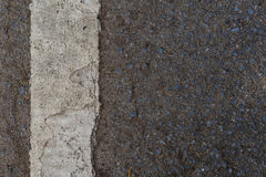 Close up a crack line Royalty Free Stock Photography