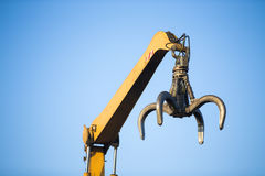 Close-up of a crane Royalty Free Stock Photos