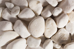 Close up of cream pebbles 图库摄影