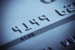 Close-up of credit card Royalty Free Stock Photo