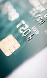 Close up of credit card Royalty Free Stock Photography