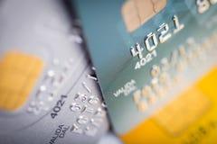 Close up of credit card Royalty Free Stock Photo