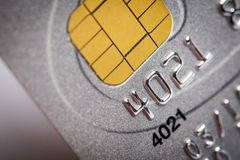 Close up of credit card Stock Images