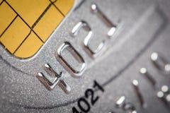 Close up of credit card Royalty Free Stock Photos