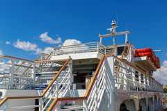 Close-up of cruise ship Royalty Free Stock Images