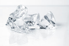 Close up of crushed ice Royalty Free Stock Photography