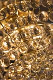 Close-up of crystal beads. Royalty Free Stock Photography