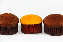 Close up of cup cake Royalty Free Stock Photography
