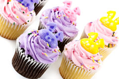 Cup Cake decoration Royalty Free Stock Photography