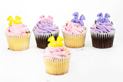 Cup Cake decoration Stock Images
