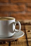 Close-up Cup With Coffee Stock Photography