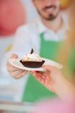 Close up of cupcake Royalty Free Stock Image