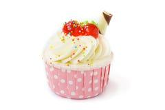 Close up of cupcake Royalty Free Stock Photos
