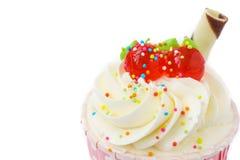 Close up of cupcake Stock Photography