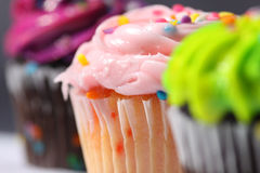 Close up of Cupcakes Royalty Free Stock Images