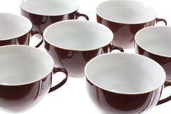 Close Up of Cups Royalty Free Stock Image