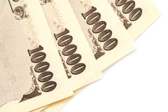 Close up currency Stock Images