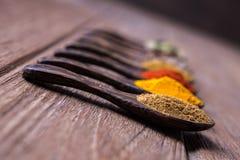 Close up curry powder Stock Photo