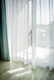 Close up of curtain Royalty Free Stock Images