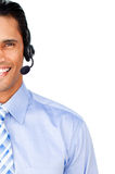 Close-up of a customer service agent Stock Photos