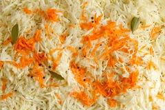 Close-up of a cut cabbage Stock Photos