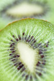 Close-up of cut kiwi Royalty Free Stock Photos