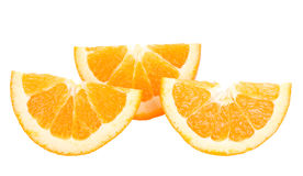 Close-up cut orange fruit Royalty Free Stock Photo