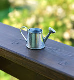 Close up of cute watering can Royalty Free Stock Image